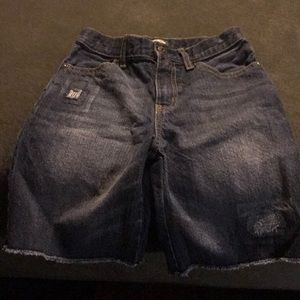 Jean Shorts- Lightly Distressed!